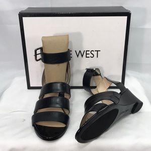 🆕 Nine West Black LE L Size 6M Shoes
